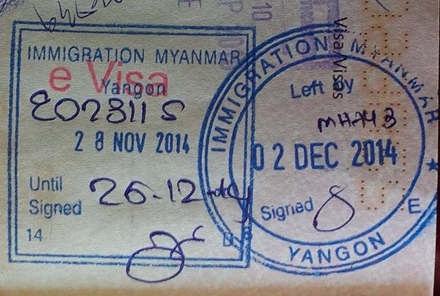 Myanmar eVisa