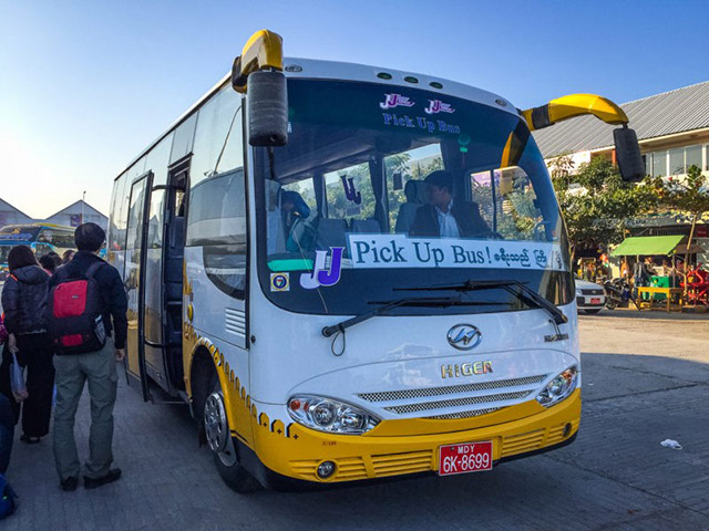 Myanmar-Night bus
